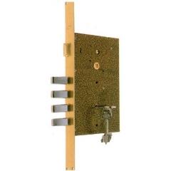 Al igual que nuestra cerradura central, podemos instalar una segunda cerradura superior.