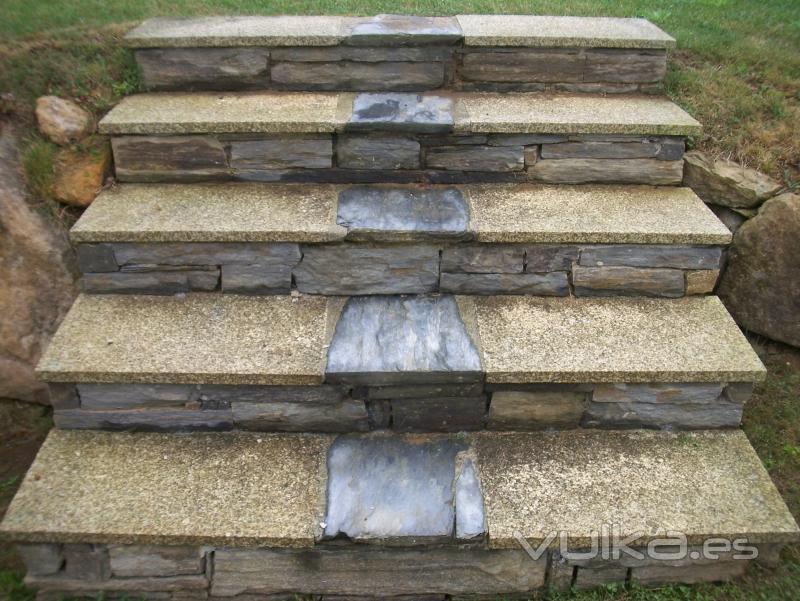 Foto escalera de jardin - Escaleras para jardin ...
