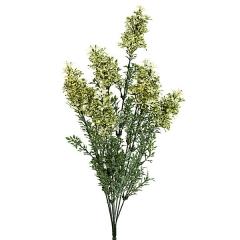 Ramas artificiales flores bush mini crema en lallimona.com