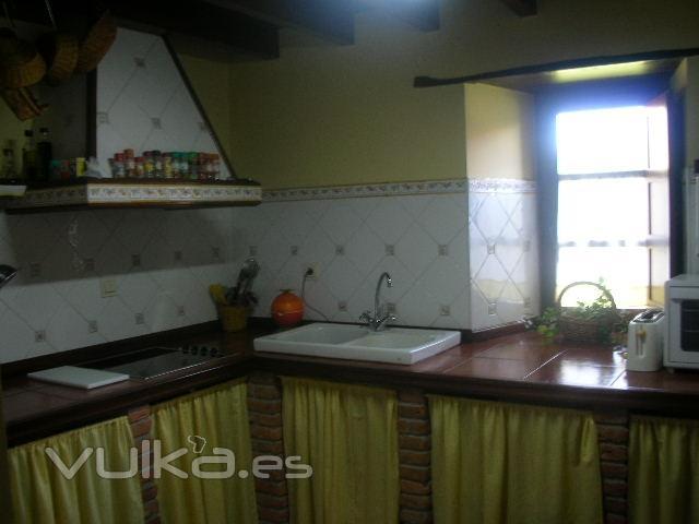 Foto cocina de la casa del campo - Cocinas rurales fotos ...