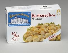 Ol-120 berberechos al natural ri?as 50-60 piezas