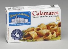 Ol-120 calamares trozos en salsa americana