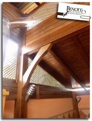 Detalle interior porche