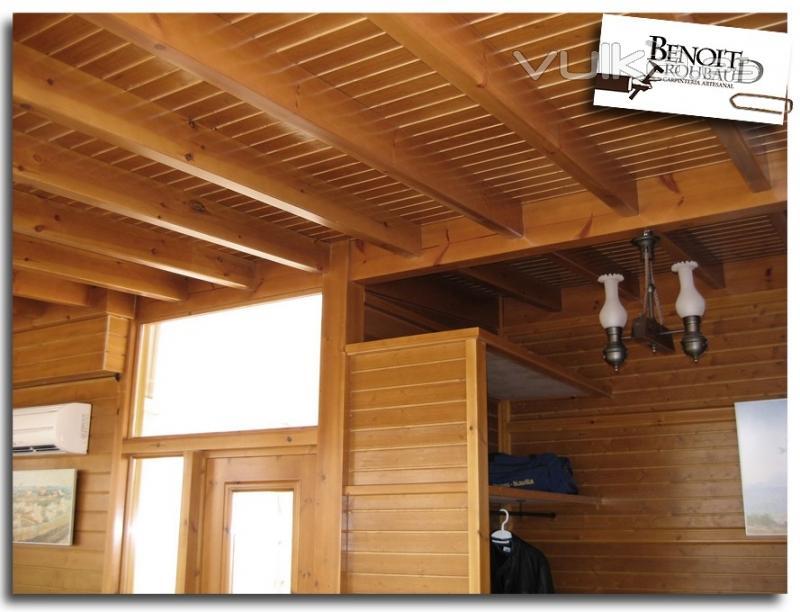 Foto cerramiento de madera para atico - Cerramientos en madera ...