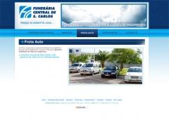 Diseño web y maquetación funeraria s. carlos  www.funerariacentraldesaocarlos.com