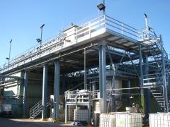 Estructuras met�licas para empresa qu�mica en benicarl� (castell�n)