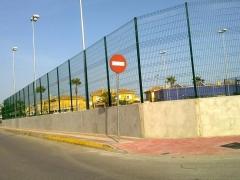Cerramiento con muros prefabricados