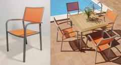 INTERIORS TON SARR� - Mesa Palma y sillones M�laga de Bamb� Blau