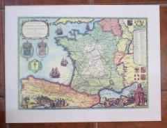L�mina del mapa de la ruta jacobea, en concreto del camino franc�s. 7 eur
