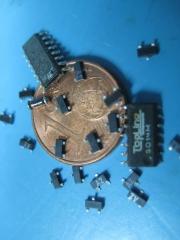 Tamaños de componentes