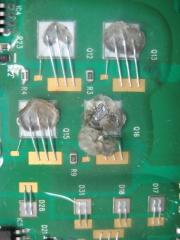 Detalle circuito hibrido