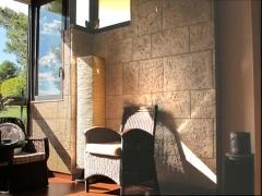 Detalle panelado pared - foto de cliente