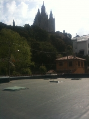 Rehabilitacion de cubierta en collserola (barcelona)