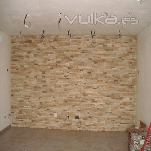 Foto revestimientos en piedra natural en malaga - Revestimientos piedra natural ...