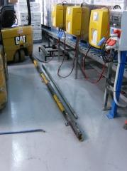 Pavimento resina - carga de baterias