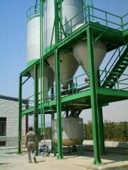 Instalacion fertilizante solido abonado