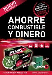 Con avant+3   puedes ahorrar hasta el 30% de tu consumo de combustible.