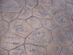 suelo de hormigon imitacion a piedra
