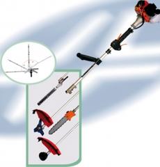 Oferta  kit multicuter  desbrozador ( con disco y cabezal de hilo ),espada de poda y cortasetos