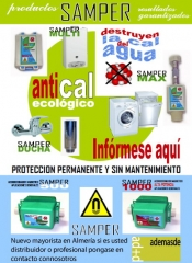 ademasde, Distribuidor productos antical ecologico Samper.