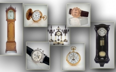 Relojes de pared y antesala