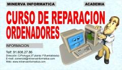 CURSO DE REPARACION DE ORDENADORES EN JULIO
