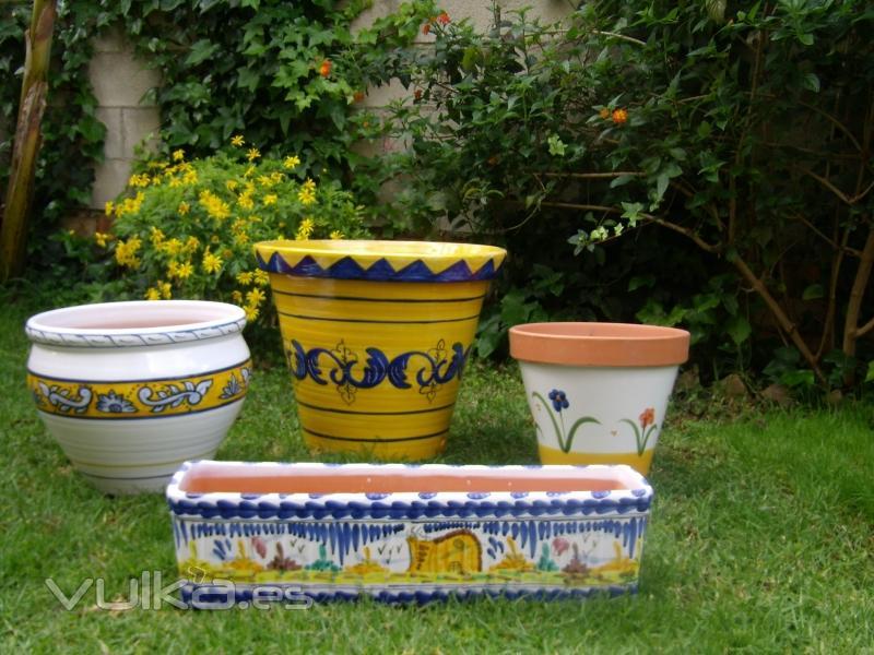 Ceramicas camorra - Jardineras de ceramica ...