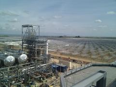 instalacion de red datos con fibra optica planta termo electrica-solar