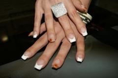 Decoracion de uñas esculpidas