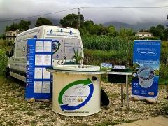 Xaló (alicante), estación biológica depuradora de aguas residuales at6.