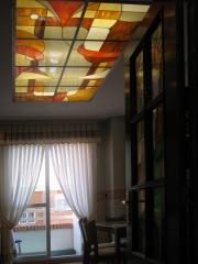 Luminaria de techo.