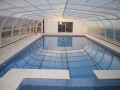 Cubierta piscina deslizante mixta