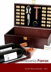 CATALOGO Set de Vinos y Estuches 2011 - www.artesaniaparras.com