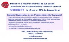 Convenio de colaboración de COMWAY y AJE Jaén