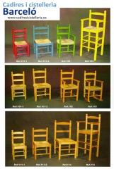 Sillas de madera barcel�: sillas infantiles, tronas de madera, sillones ni�os, sillas de colores.