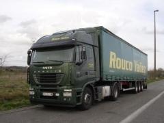 ROUCO YA�EZ - Camiones siempre a punto para realizar los trayectos sin retrasos