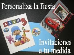 Ejemplos de Invitaciones de Cumpleaños personalizadas