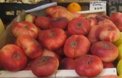 La platerina es una fruta dulce (alrededor de 15º brix), con un buen perfume y un sabor muy cercano