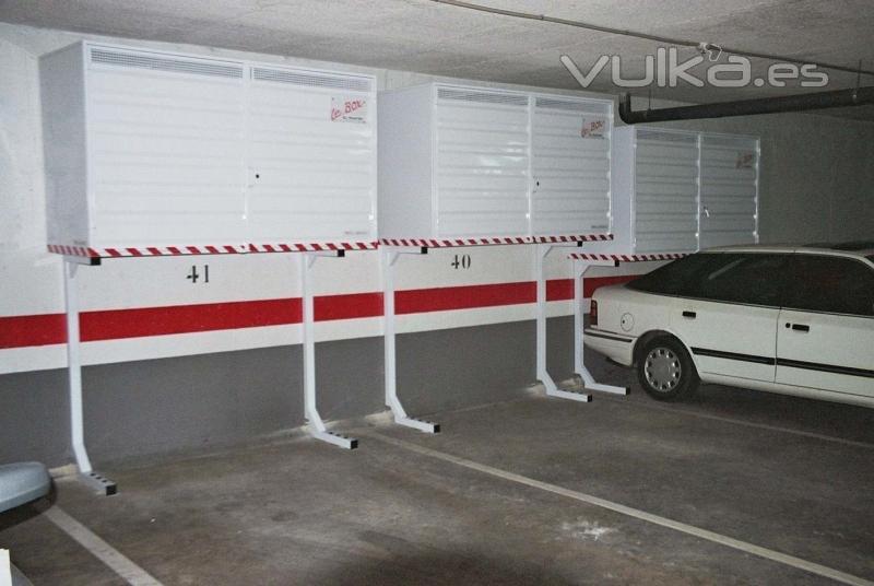 Foto armarios para parking scorpio for Muebles para garaje