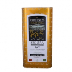 Aceite de oliva virgen extra molino de segura lata