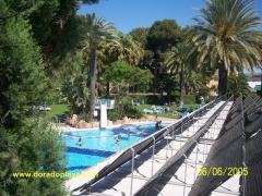 Climatización de piscina exterior con paneles termodinámicos