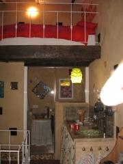 Foto Cocina Baño y dormitorio del Estudio