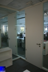 Mamparas para oficinas divisorias desmontables stylesmart by stylewall