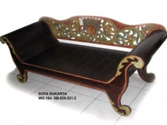 Sofa bali policromado