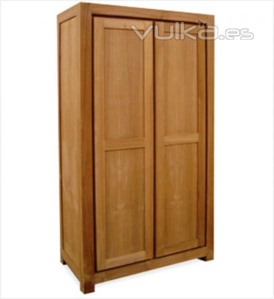 Foto armario teca for Muebles de teca interior