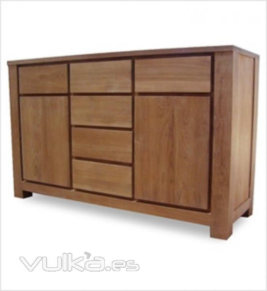 Foto mueble teca for Muebles madera teca