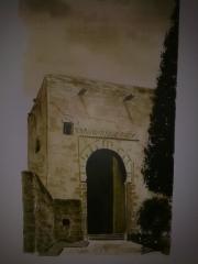 Puerta de la Justicia. Alhambra. Acuarela.