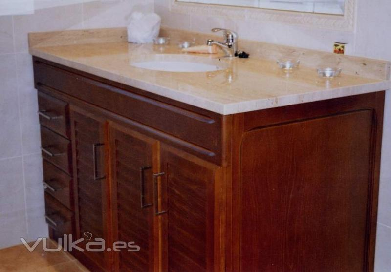 Foto mueble a medida de cuarto de ba o for Muebles de bano a medida