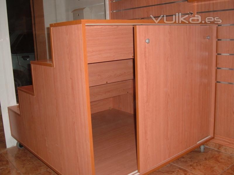 Foto: Mueble escalonado escaparate
