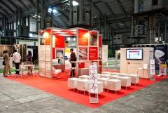 Stand modular de gran formato para la Cambra de Comer� de Barcelona en bizBarcelona